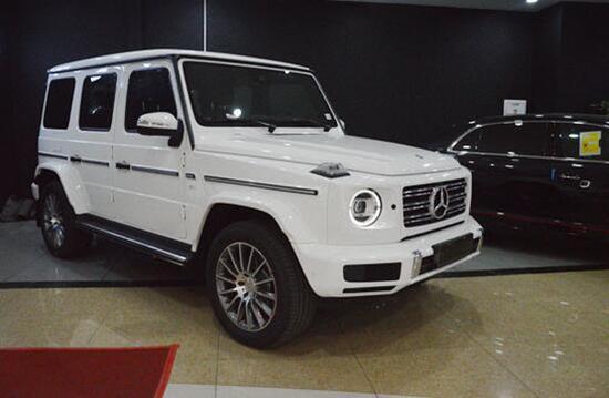 2020款奔驰G500 天津港热卖提车不加价
