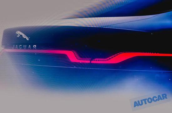 2019法兰克福车展:新一代捷豹XJ预告图