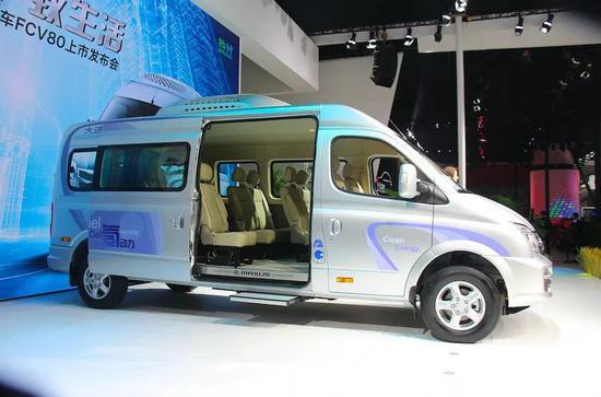 每台车补贴50万,氢燃料电池车型补贴名单公布