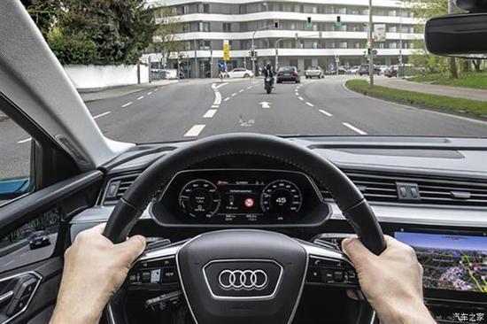 奥迪在欧洲推出交通信号灯辅助系统