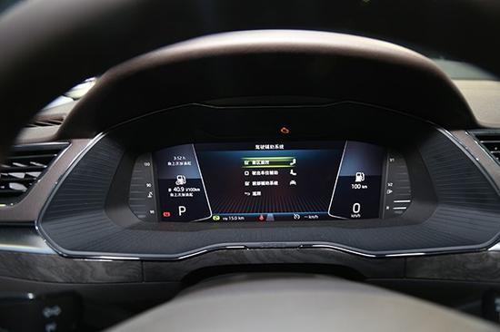 加入液晶仪表盘 斯柯达新款速派月底上市