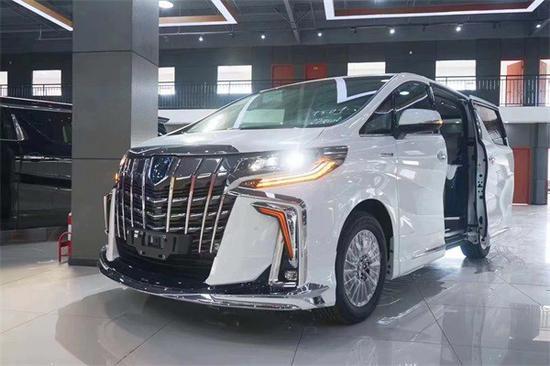 2020款丰田埃尔法蒙娜丽莎版奢华商务车