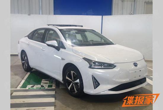 定位紧凑电动车 广汽丰田iA5申报图