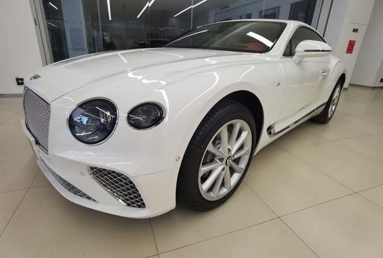 21款宾利欧陆V8展厅实拍豪华轿跑车热销