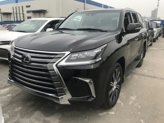 2019雷克萨斯LX570顶配 全尺寸大型SUV