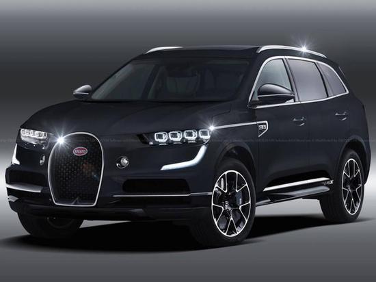 这才是真猛兽 布加迪或推纯电动SUV