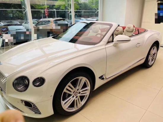宾利欧陆GT时髦的SUV优惠30万可办分期