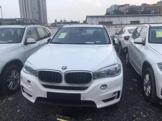 2018款中东版宝马X5现车甩卖国五可落户