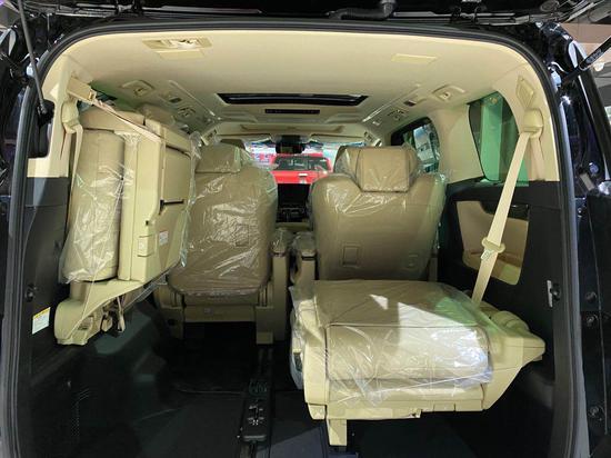 2020款丰田埃尔法实车特惠 MPV商务旗舰