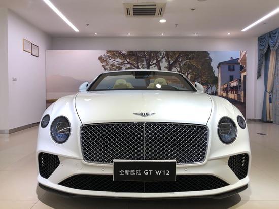 新款宾利欧陆GT中秋节即将发售