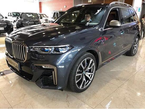 2020款宝马X7闪耀而来天津现车优惠价格