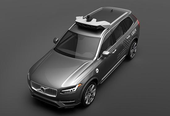 基于沃尔沃XC90改装的自动驾驶出租车