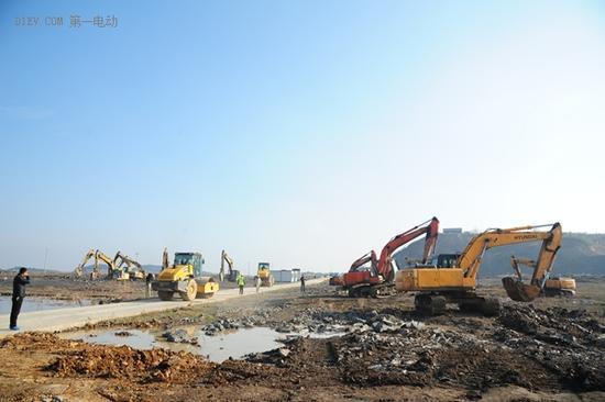 笃定前行,回击质疑,乐视生态汽车产业园在莫干山正式开工