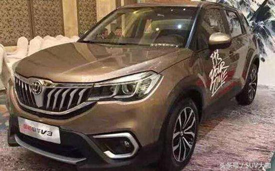 准备好钱 上海车展又一大波10万左右的SUV