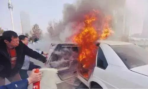 夏季行车安全 是什么原因导致车辆自燃?