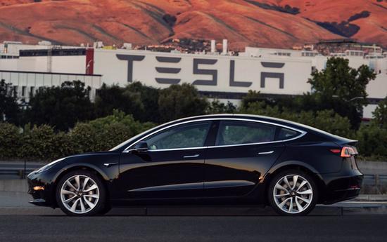 Model 3预计八月产量将达100辆