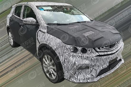 吉利全新小型SUV—SX11谍照曝光 定位高端