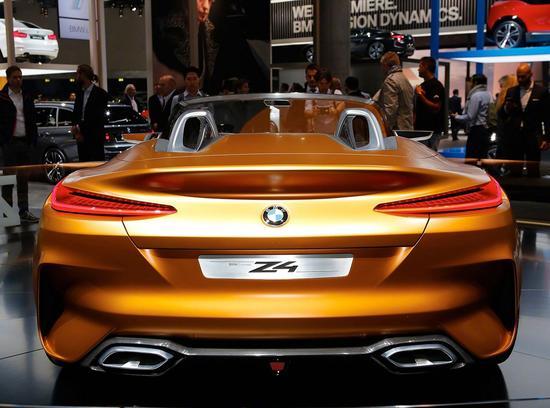 【宝马BMW Z4概念车】