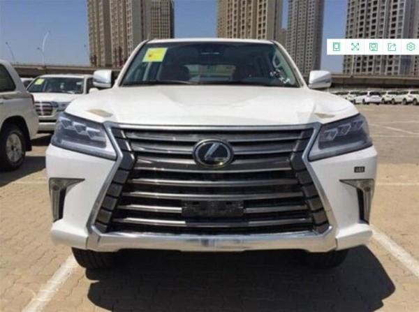 2019款雷克萨斯LX570 豪华车型展厅优惠