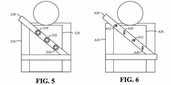 苹果新专利:安全带配备传感器和扬声器