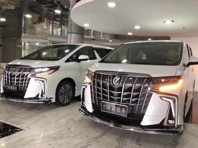新款丰田埃尔法蒙娜丽莎笑舞版商务MPV
