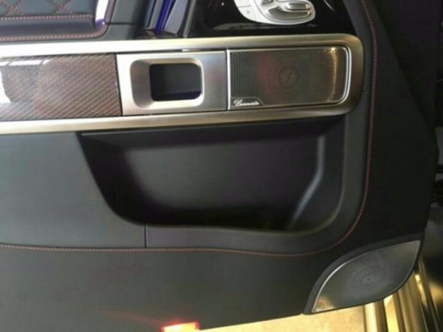 新款奔驰G63墨版网红座驾最低价格