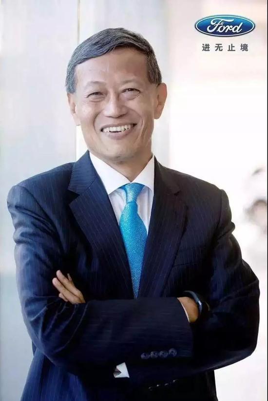 福特中国产品创新副总裁刘曰海