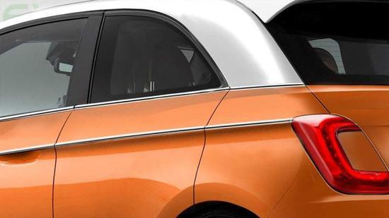 全新EV平台 全新菲亚特500e假想图曝光