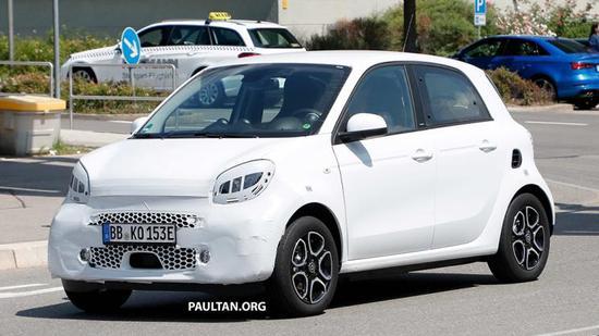 新款smart EQ系列将于法兰克福车展亮相