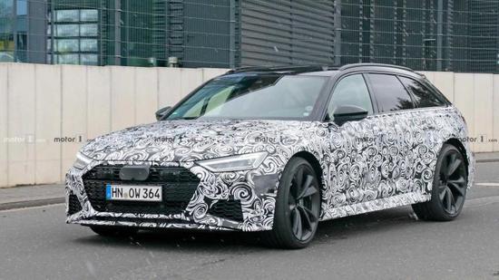 9月10日正式亮相 新奥迪RS 6 Avant预告