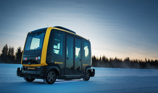 大陆集团与EasyMile的无人驾驶车亮相法兰克福车展