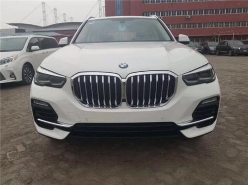 2019款宝马X5现车报价天津港现车优惠