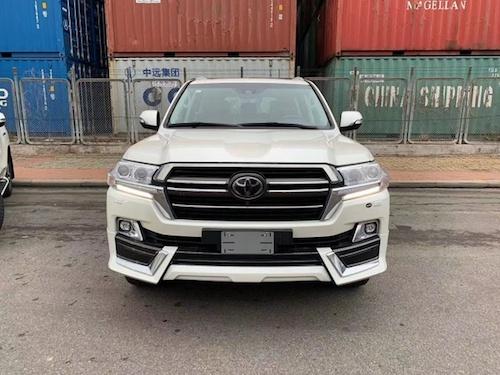 2019款酷路泽5700陆巡V8天津港现
