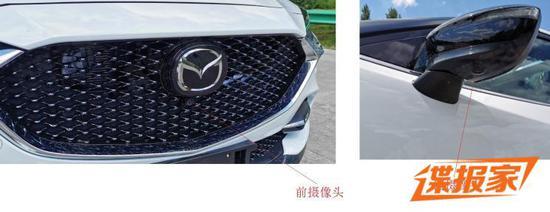 更新魂动设计 曝新款马自达CX-4申报图
