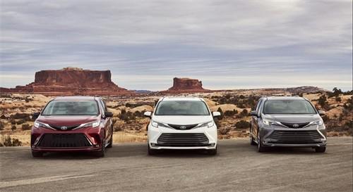 2021款丰田塞纳多款现车颜色可选价格