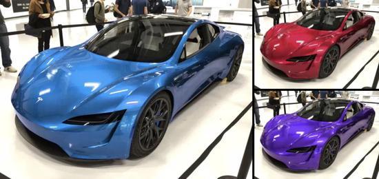 """马斯克:新款特斯拉Roadster将有""""特殊颜色"""""""