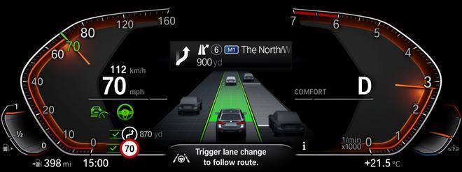 中期改款宝马5系官图发布 搭48V轻混系统提升动力响应