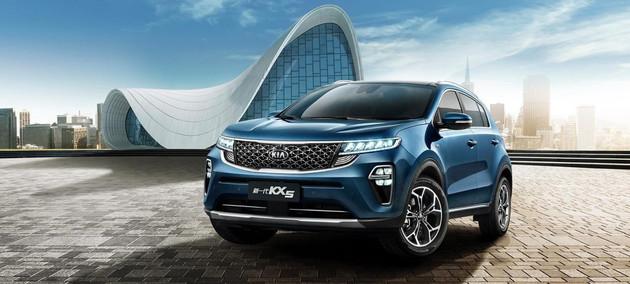 采用全新设计语言 新一代起亚KX5四驱车型即将上市