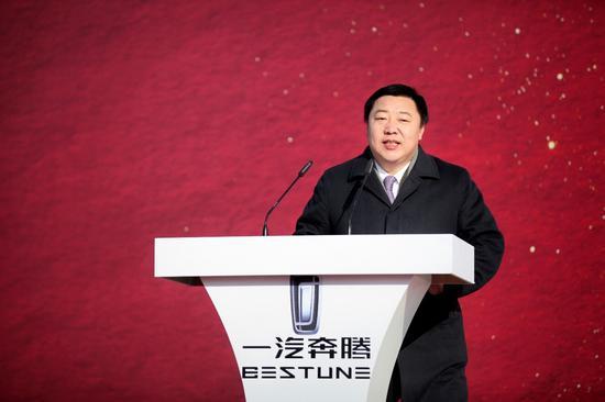 一汽轿车股份有限公司总经理柳长庆