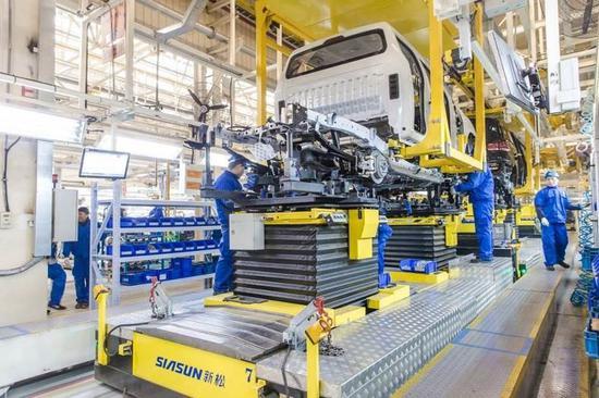 上汽大通智能定制工厂 G50生产线