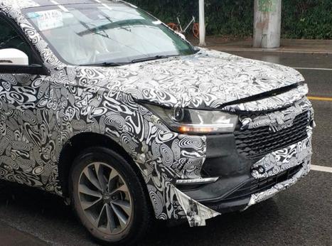 奇瑞全新SUV车型谍照曝光 1.6T动力年底上市