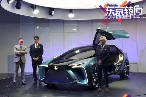 东京车展|雷克萨斯电动概念车LF-30亮相