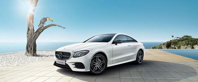 新款奔驰E级轿跑车上市 售价52.88万起