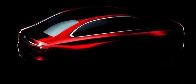 广汽传祺全新GA6预告图 将在上海车展亮相