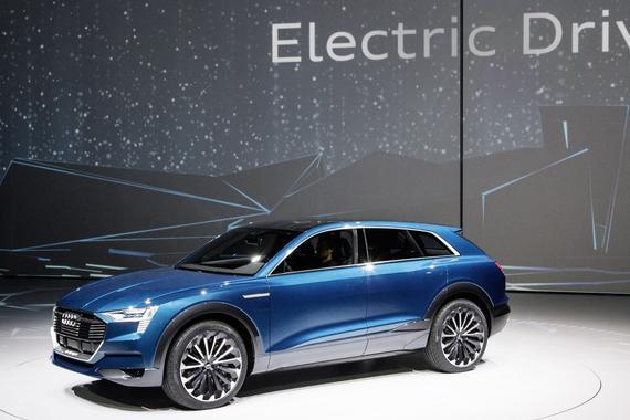 奥迪电动SUV e-tron Quattro 价格公布 达80,000欧元