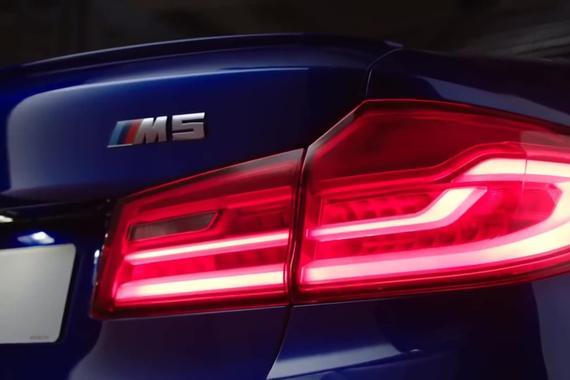 视频:2018 宝马BMW M5霸气发布