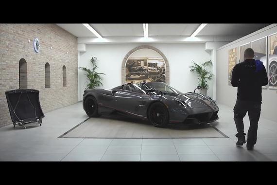 视频:视频:一台Pagani Huayra Roadster的诞生
