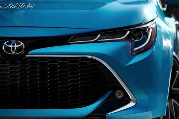 2019丰田Corolla XSE变脸了