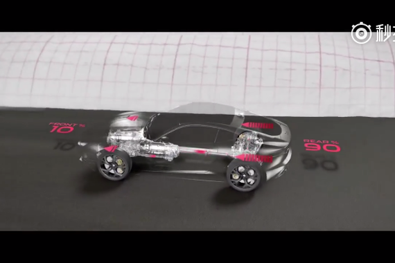视频:捷豹 F-Type 四驱系统