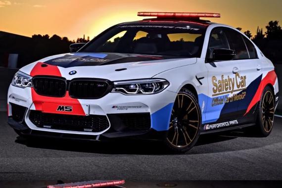 BMW M5 Moto GP安全车